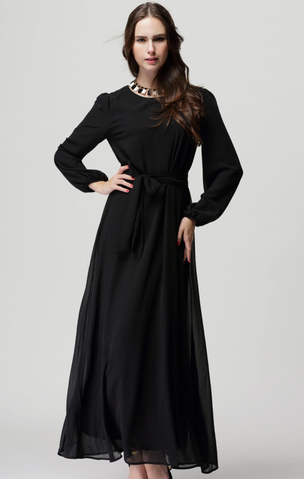 Long dresses with long sleeves at pennys