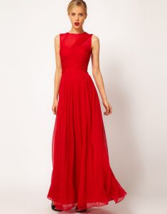 Maxi Red Dress