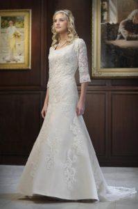 Modest Vintage Wedding Dresses