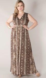 Petite Plus Size Maxi Dresses