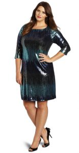 Plus Size Club Dresses with Sleeves