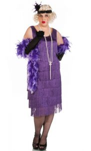 Plus Size Flapper Dress Costume