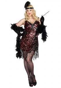 Plus Size Flapper Dresses