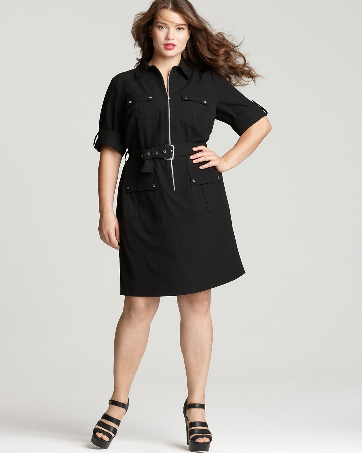 shirt dresses for plus size - prom dresses cheap