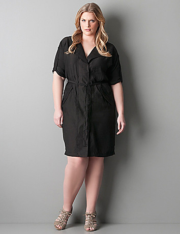 Plus Size Shirt Dress | DressedUpGirl.com