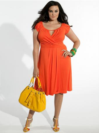 Plus Size Dresses with Sleeves | DressedUpGirl.com