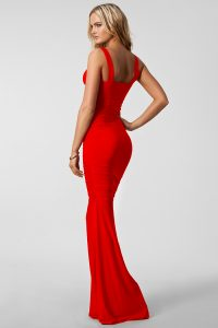 Red Dress Maxi