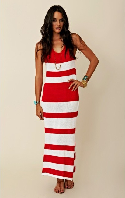 Red Maxi Dress - Dressed Up Girl