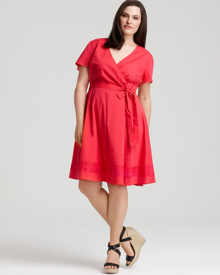 Plus Size Shirt Dress Dressed Up Girl