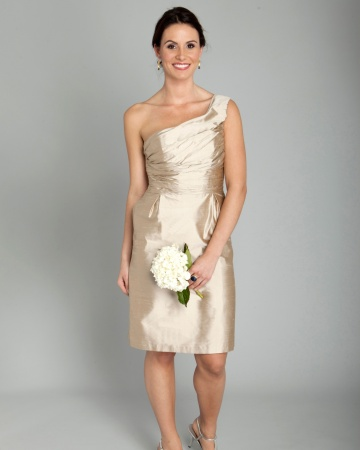 champagne short wedding dress champagne bridesmaid dresses dressed up 2546