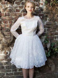 Short Vintage Wedding Dresses