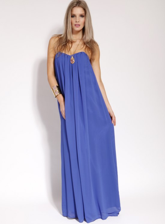 Chiffon Maxi Dress | Dressed Up Girl
