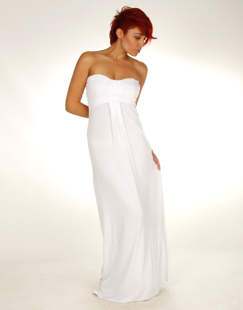 White Maxi Dress - Dressed Up Girl