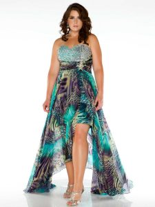 Trendy Plus Size Prom Dresses