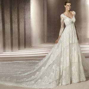 Vintage Wedding Dresses with Sleeves