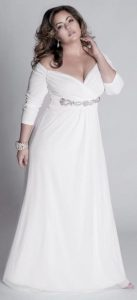 Wedding Dresses with Sleeves Plus Size