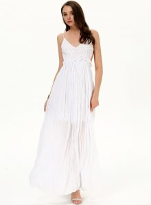 White Long Maxi Dress