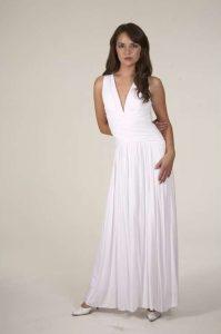 White Long Maxi Dresses