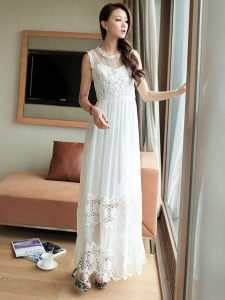 White Maxi Dress Lace