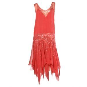 1920s Drop Waist Dress