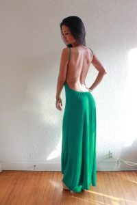 Backless Maxi Dress Pictures
