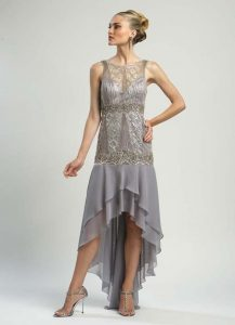 Beaded Drop Waist Dresses