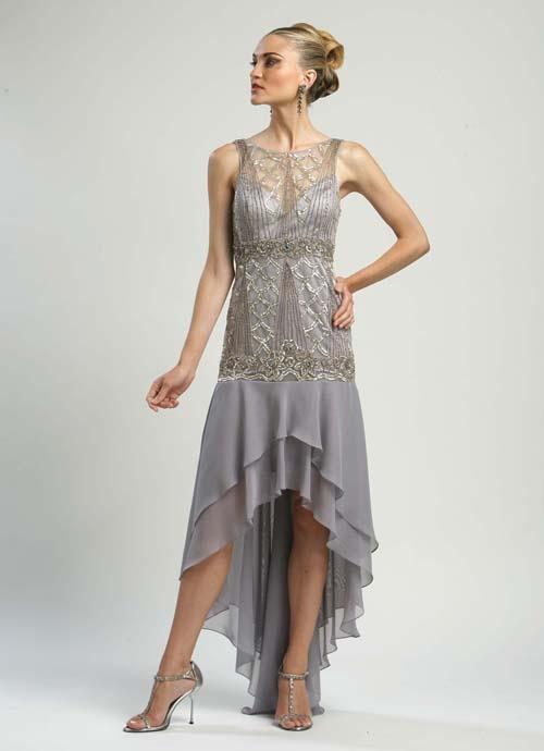 Beaded Drop Waist Dress Dressedupgirl Com
