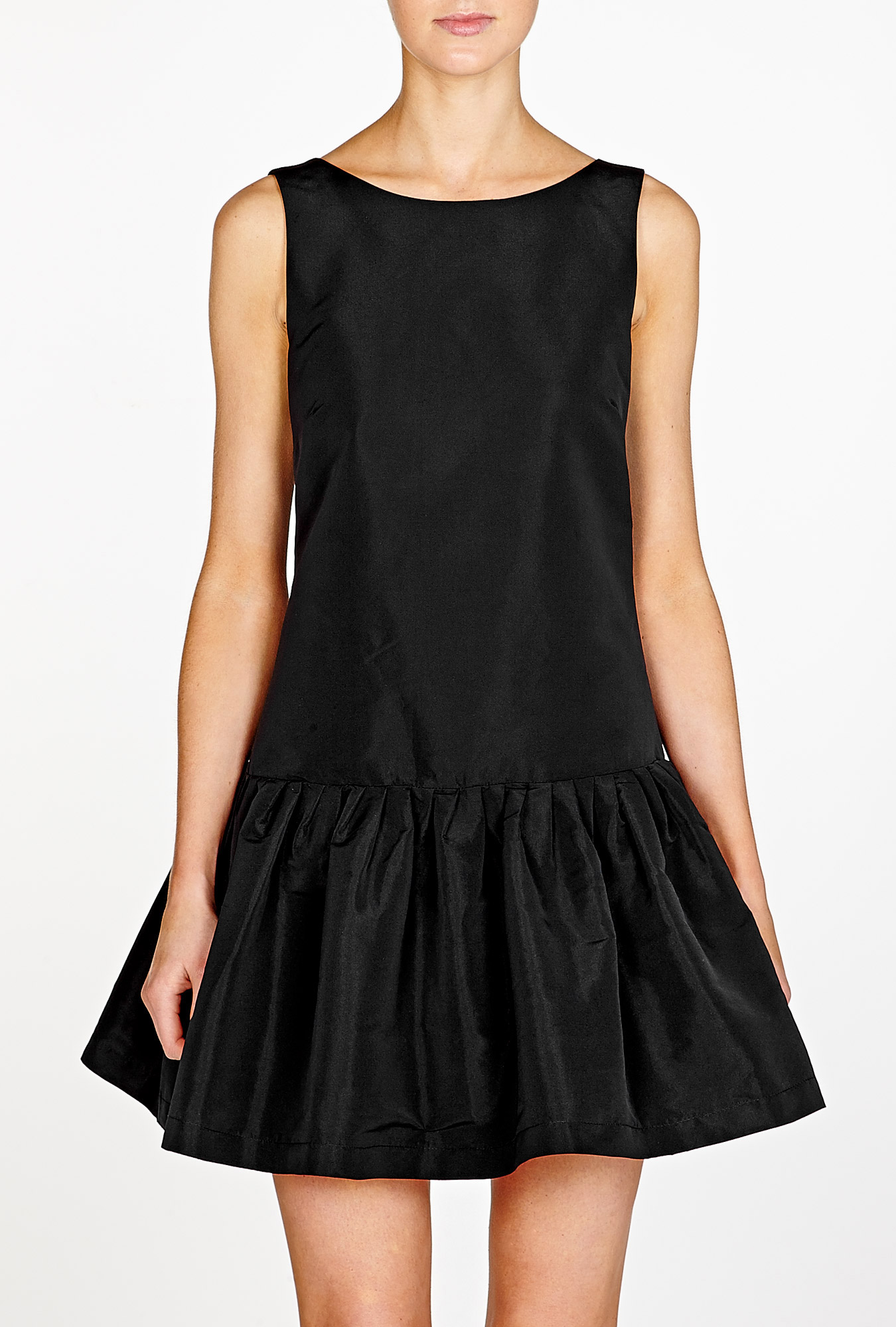 Black Drop Waist Dress Dressedupgirl Com