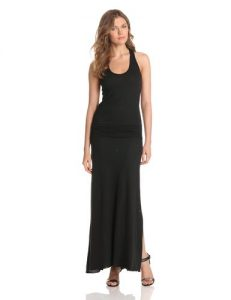Black Drop Waist Maxi Dress