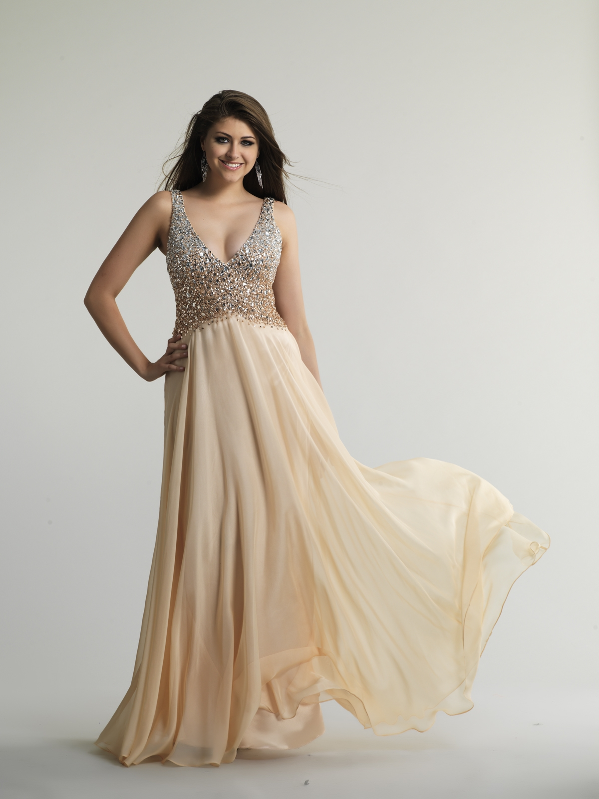 Wedding Champagne Colored Dresses champagne colored dresses dressed up girl color prom dresses