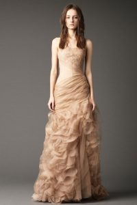 Champagne Colored Dresses