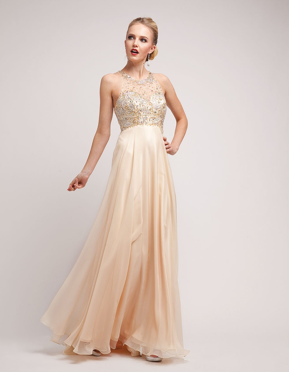 Champagne Prom Dresses Dressedup