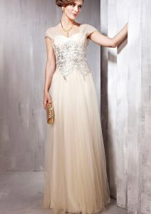 Champagne Long Dresses