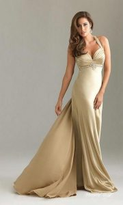 Champagne Maxi Dress Images
