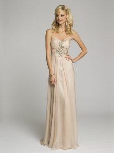 Champagne Maxi Dress Pictures