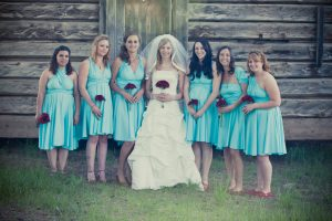 Convertible Bridesmaids Dress