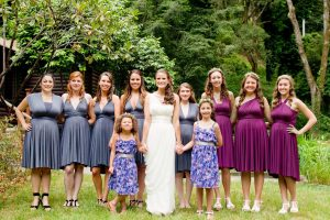 Convertible Bridesmaids Dresses