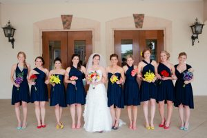 Convertible Infinity Bridesmaid Dress