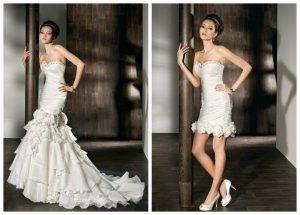 Convertible Mermaid Wedding Dress