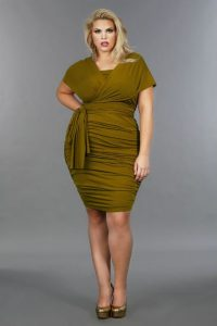 Convertible Plus Size Dress