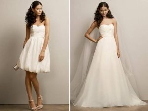 Convertible Wedding Dress Images