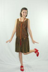 Drop Waist Dress 1920s