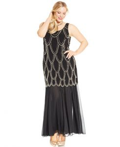 Drop Waist Dress Plus Size