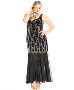 Drop Waist Dress Plus Size