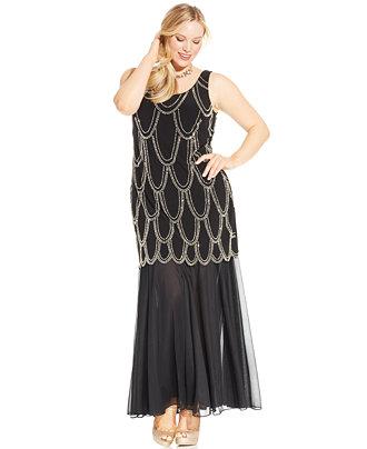 Plus Size Drop Waist Dress | Dressed Up Girl