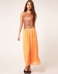 Drop Waist Maxi Dress Pictures