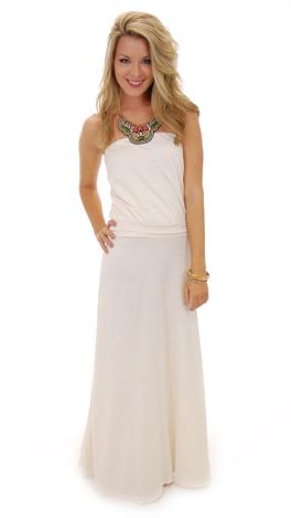 Drop Waist Maxi Dress  Dressed Up Girl