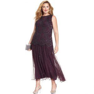 Drop Waist Plus Size Dress