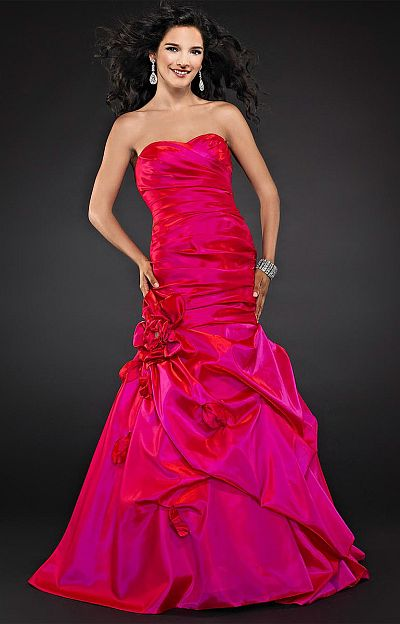 Drop Waist Prom Dress | DressedUpGirl.com
