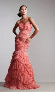 Drop Waist Prom Dresses